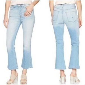 NWT Hudson High Rise Vintage Holly Crop Flare Jean